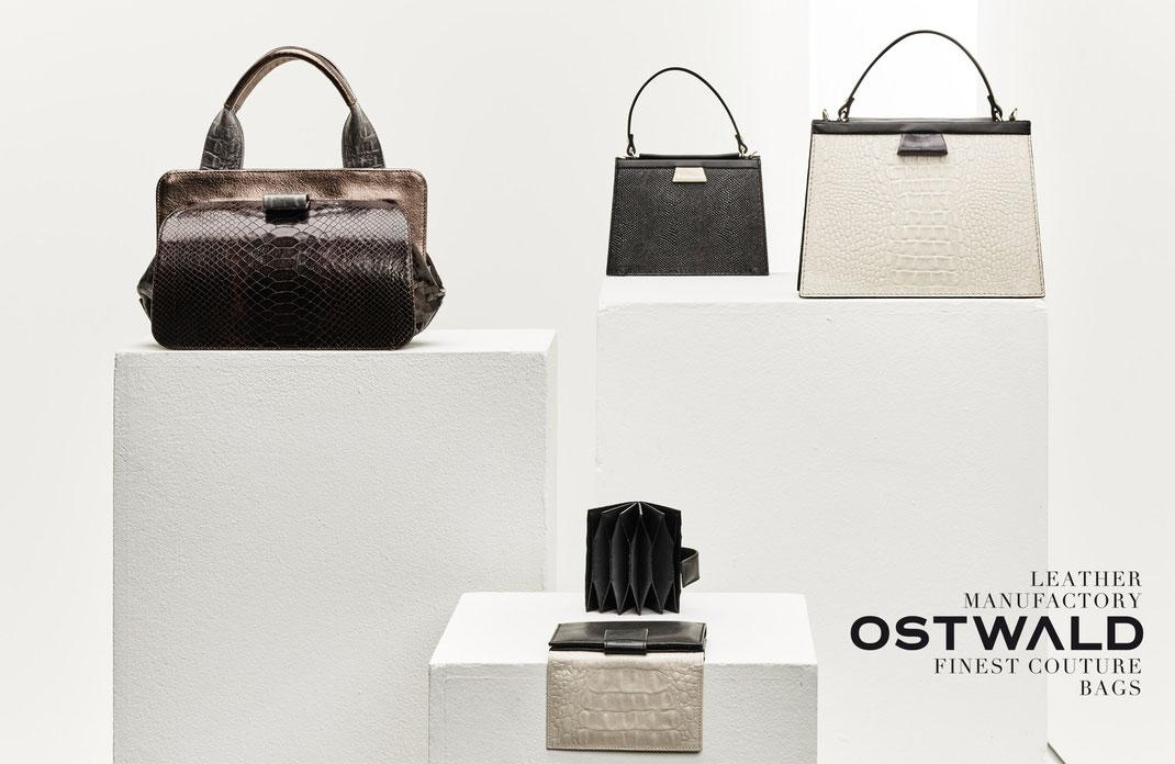 Fashion Label OWA BAGS, Couture-Craft, exklusive Taschen, Handarbeit, Slowfashion, OWA Moden GmbH