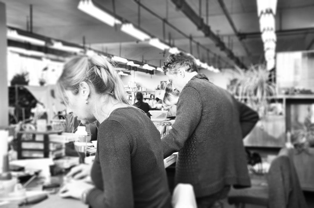 Ledermanufaktur, Familienbetrieb, Atelier, Geschäftsführer und Designder Bernd Michael Ostwald