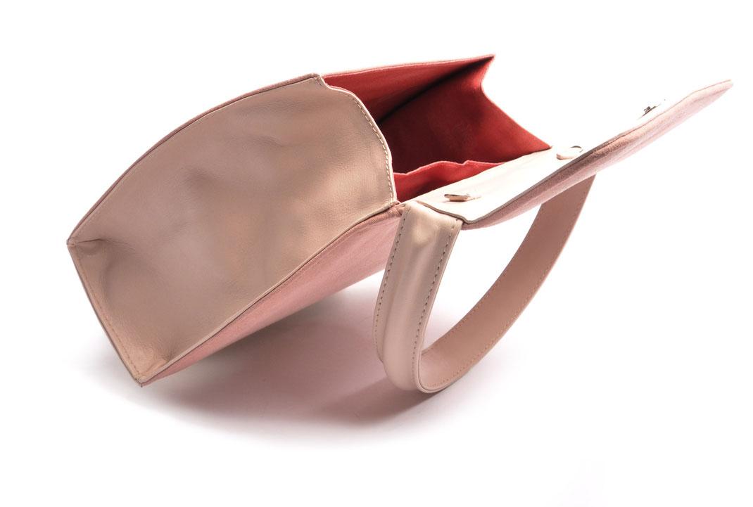 Wiesntasche Trachtentasche EMMA rose echte Handarbeit OSTWALD Traditional Craft