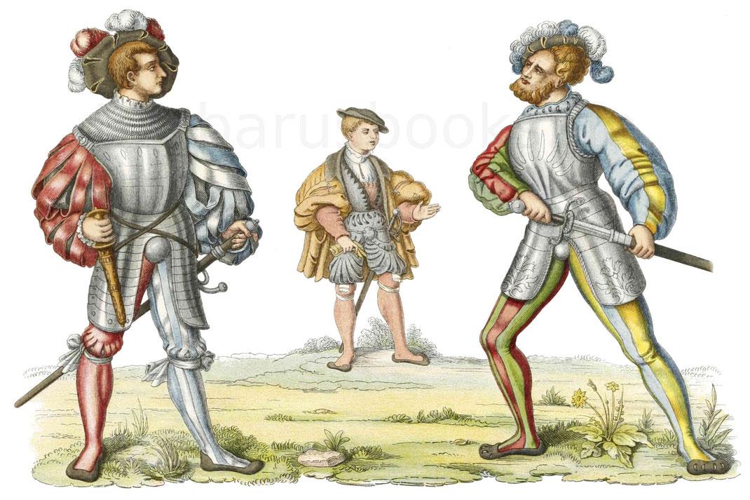 Trachten aus der ersten Hälfte des 16. Jahrhunderts