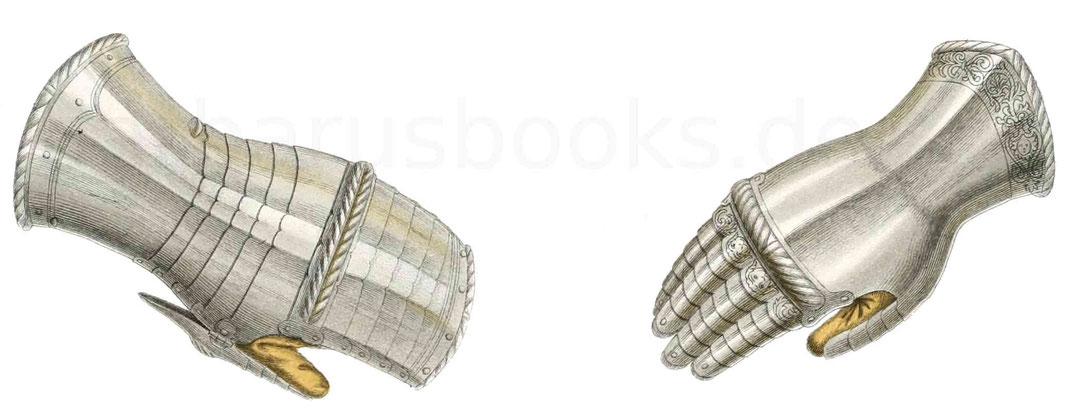 Handschuhe aus der ersten Hälfte des 16. Jahrhunderts
