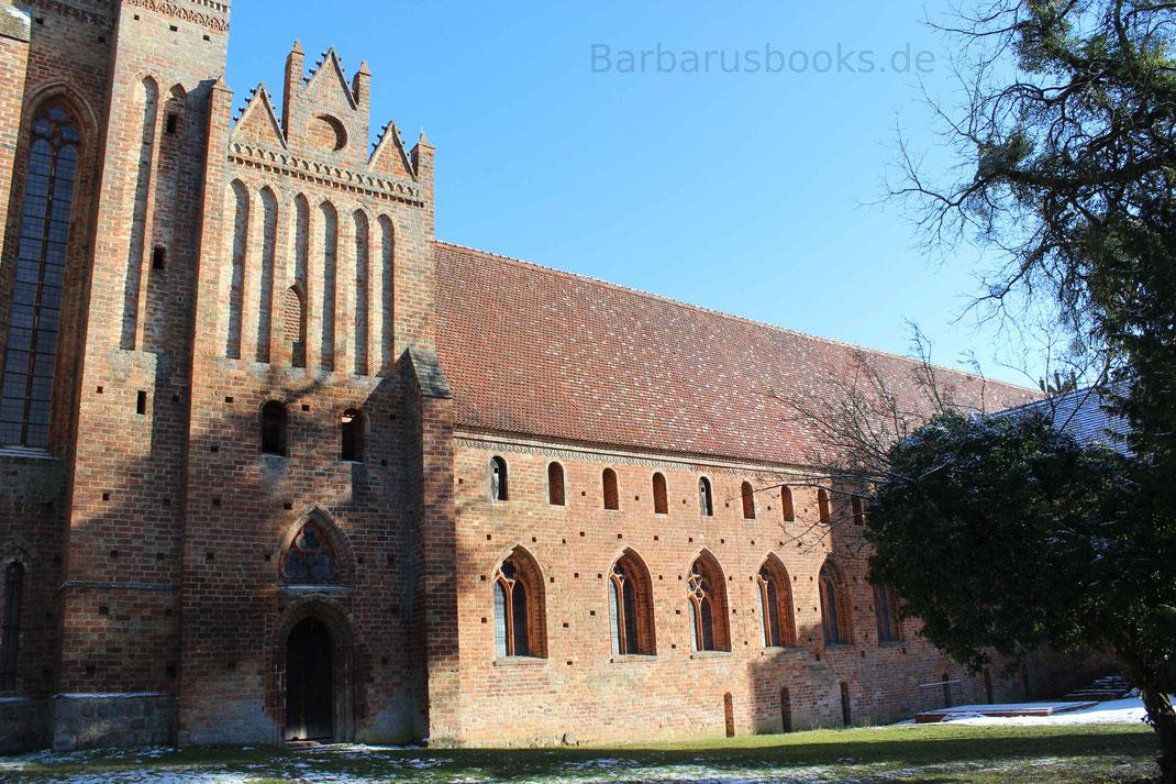 Westliche Ansicht der Klosterkirche Chorin