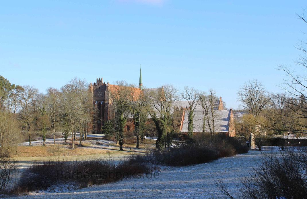 Gesamtansicht Kloster Chorin von der Landstraße