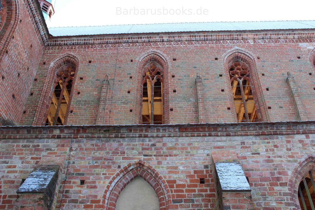 Dachstuhl Kirchenschiff Chorin