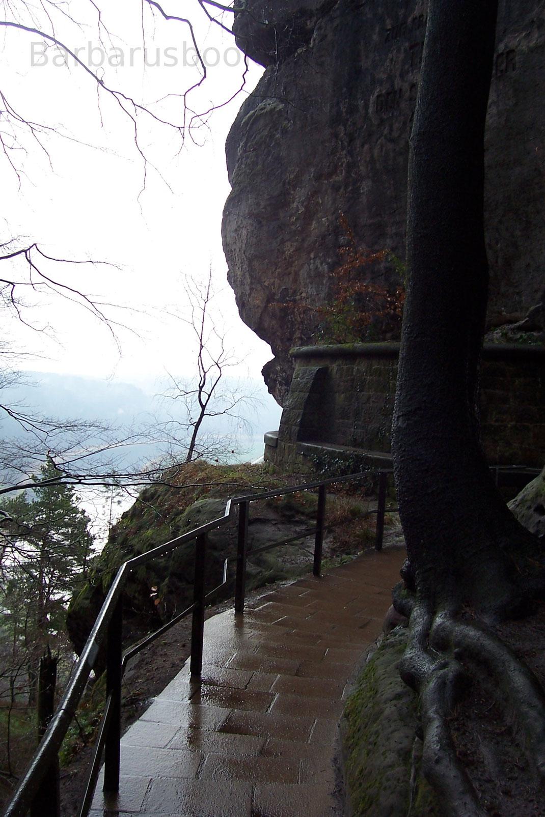 Rundgang Bastei Aussichtspunkt