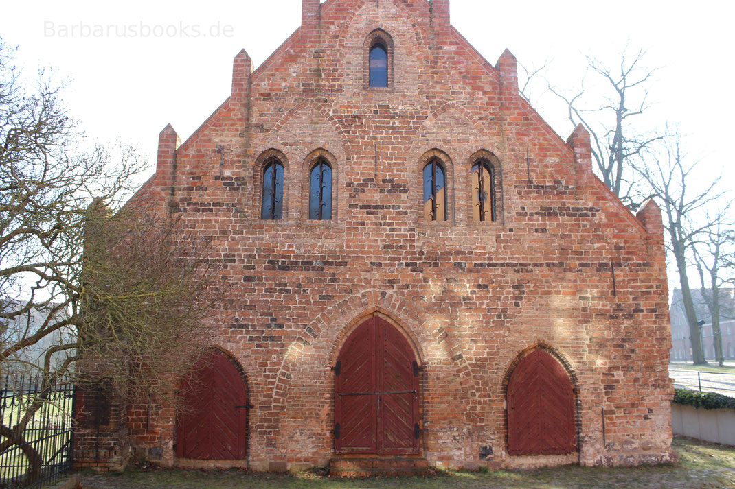 Kornspeicher drei Türen Lehnin Brandenburg