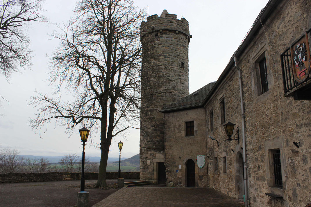 Wohngebäude aus dem 12.-14. Jahrhundert, um 1641 eingestürzt.