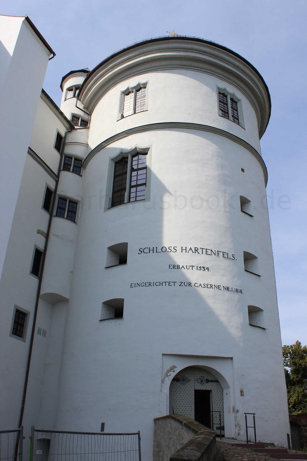 Bergfried Schloss Hartenfels