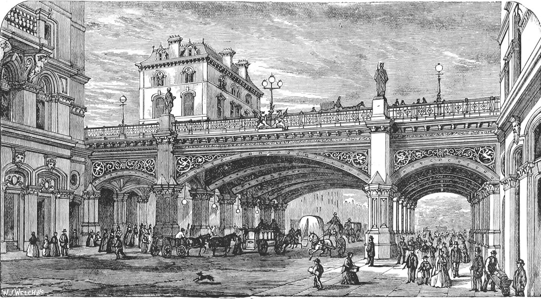 London Holborn Viaduct 1872