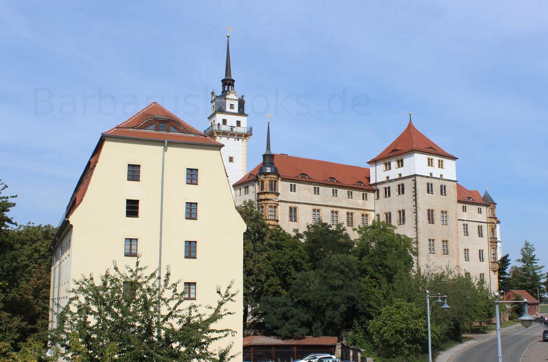 Gesamtansicht Schloss Hartenfels Torgau Nordsachsen