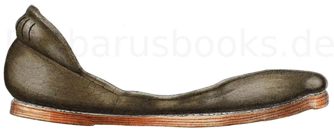 Schuhe aus der ersten Hälfte des 16. Jahrhunderts