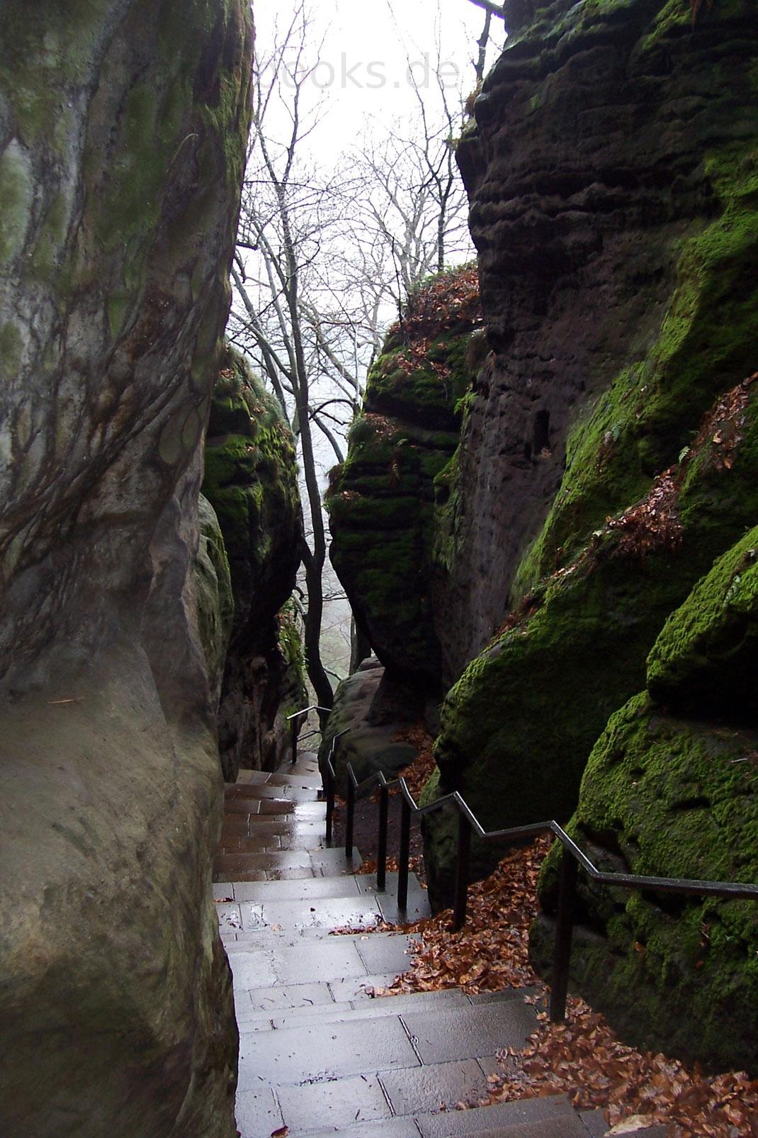 Treppe Bastei