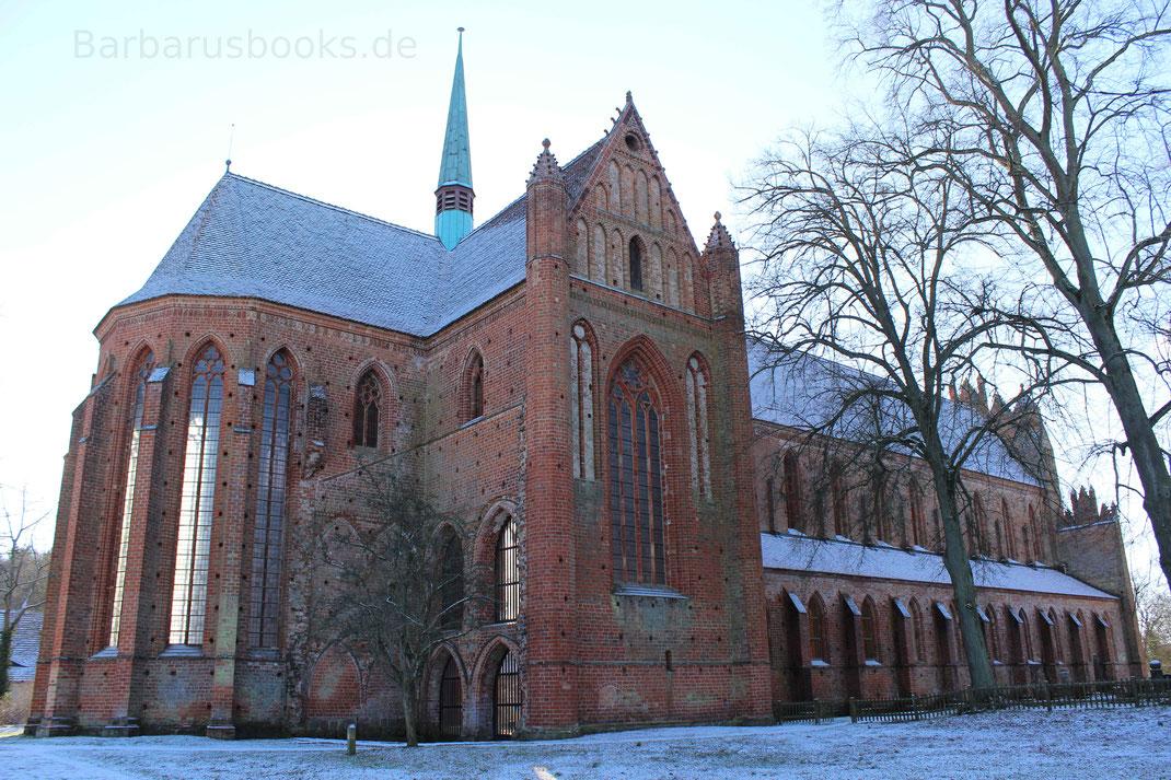 Rückseite Kloster Chorin