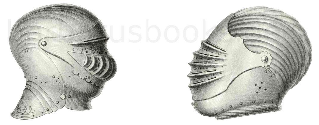 Helme aus der Periode 1510–1550
