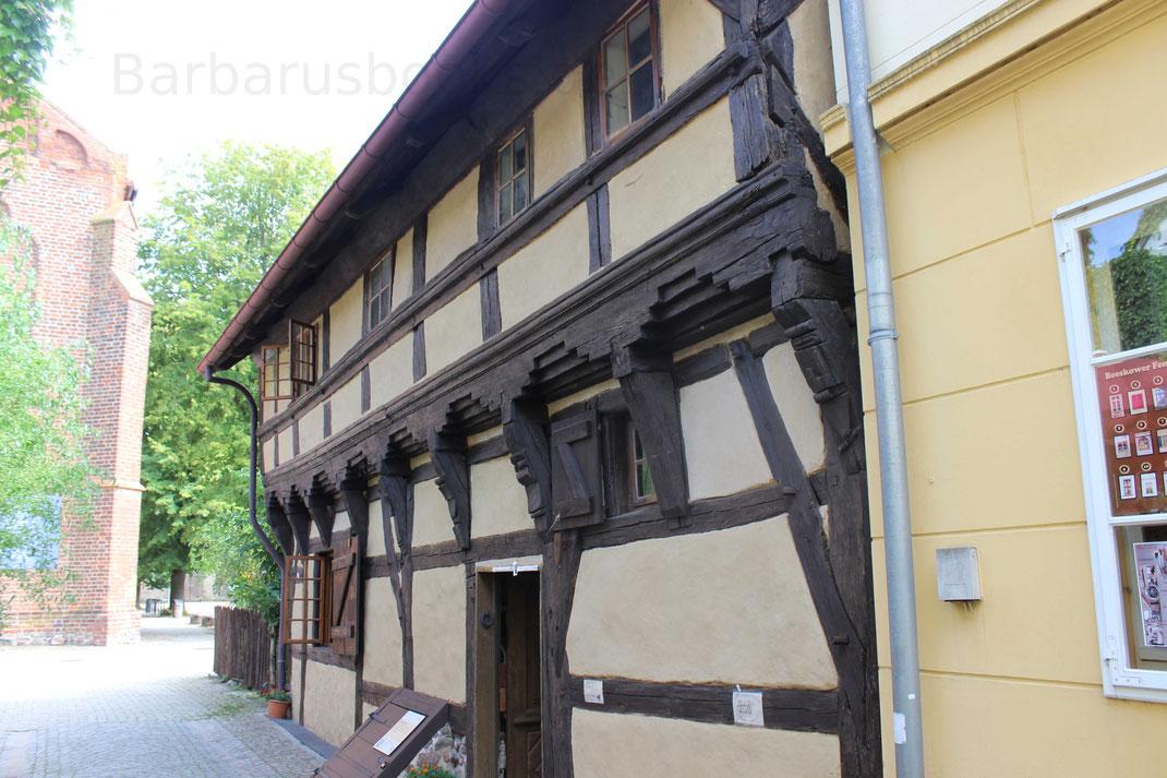 Das älteste Haus in Beeskow und im Land Brandenburg - eine wirkliche Reise wert!