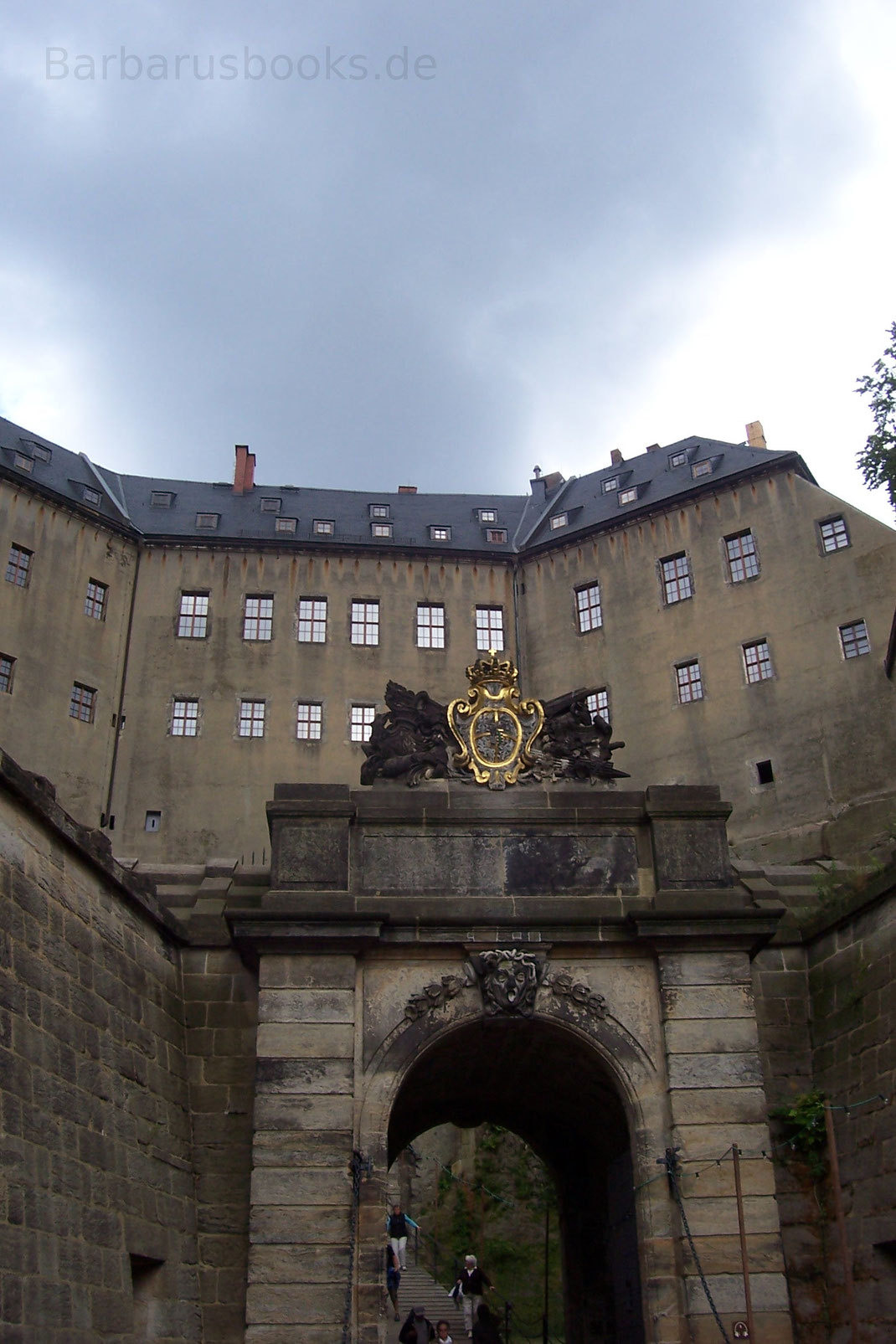 Erstes Festungstor Königstein