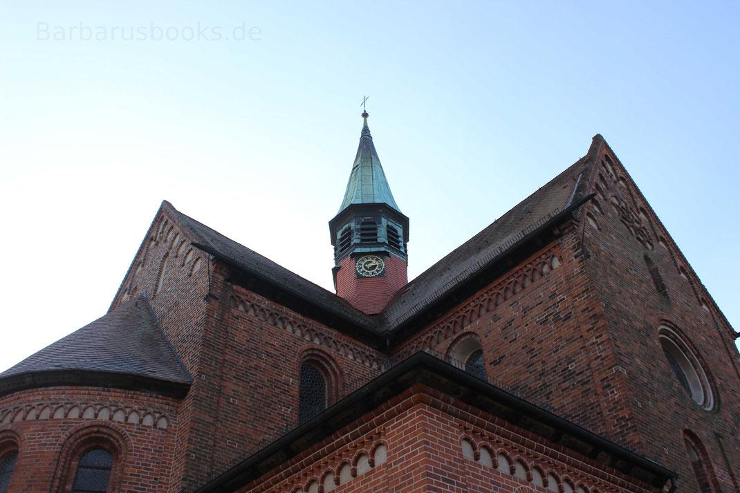 Kreuzgiebel der Kirche Lehnin Brandenburg