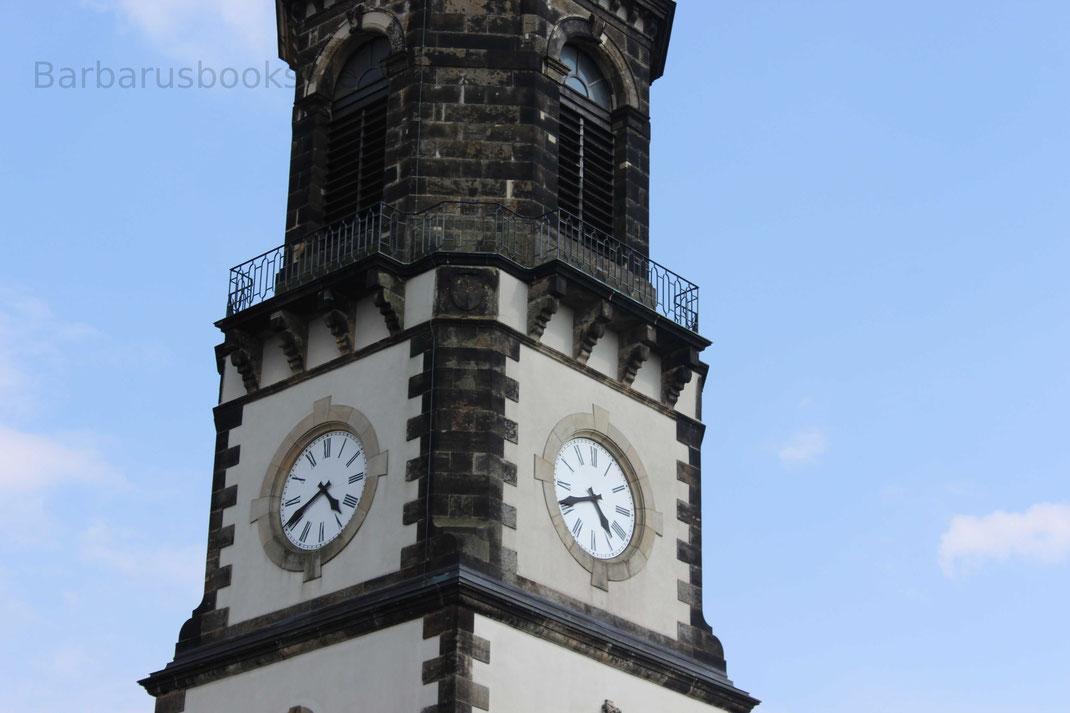 Glockenturm samt Uhr zu Frauenstein