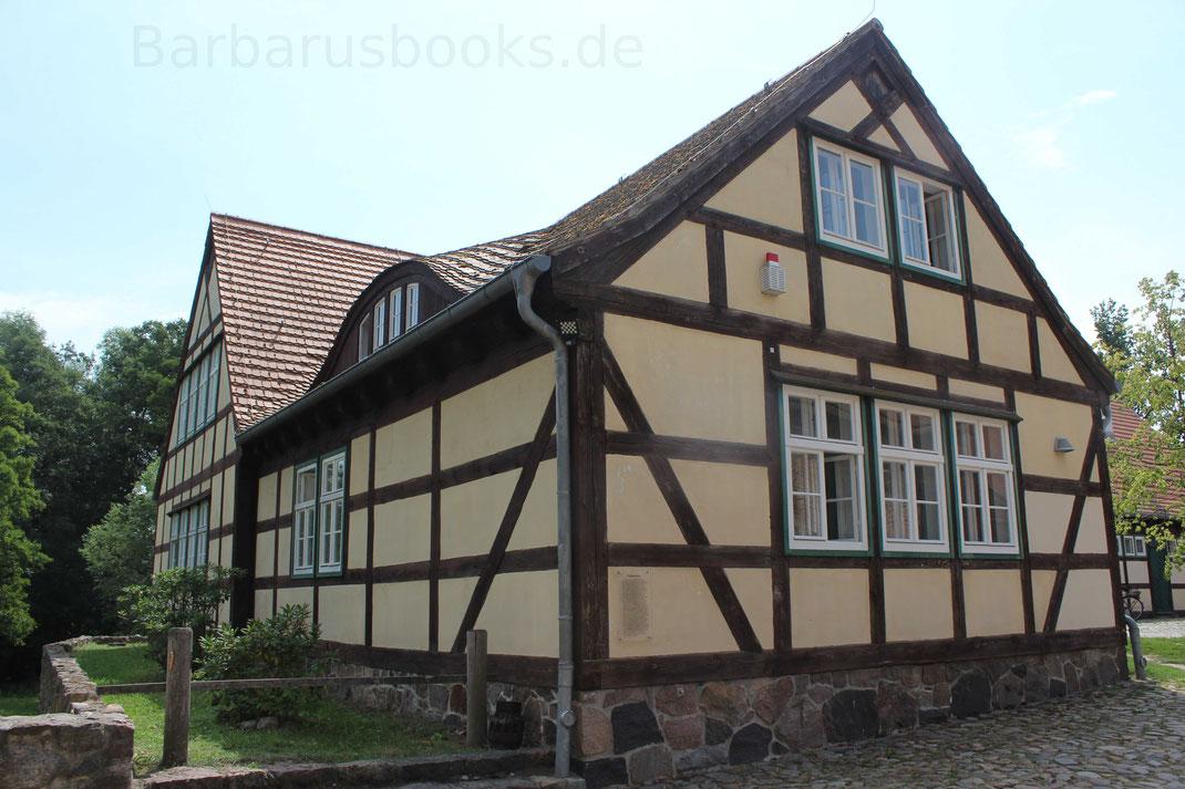 Fachwerkhaus auf Burg Storkow - ehemals als Stallgebäude genutzt