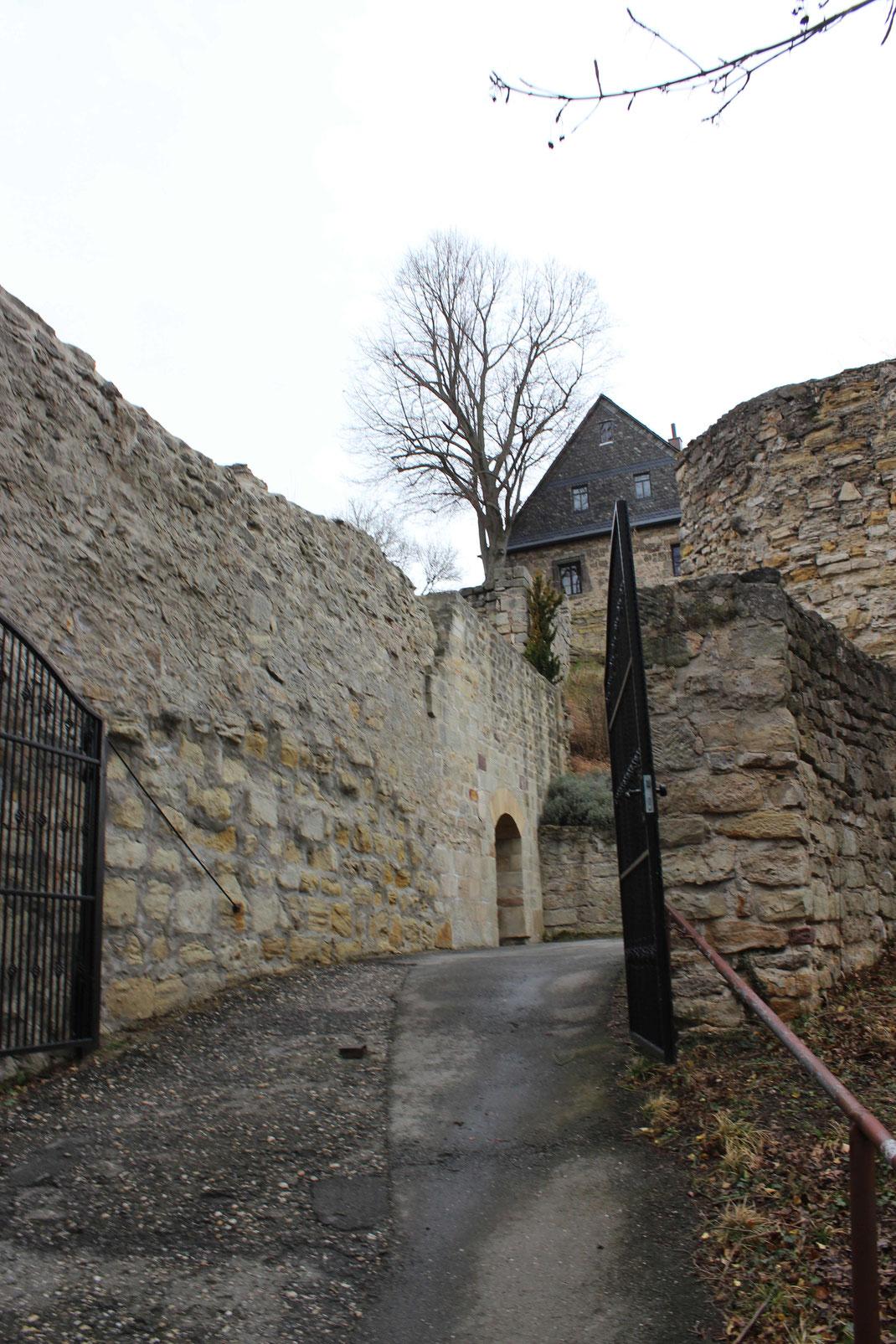 Eingang zur Hauptburg