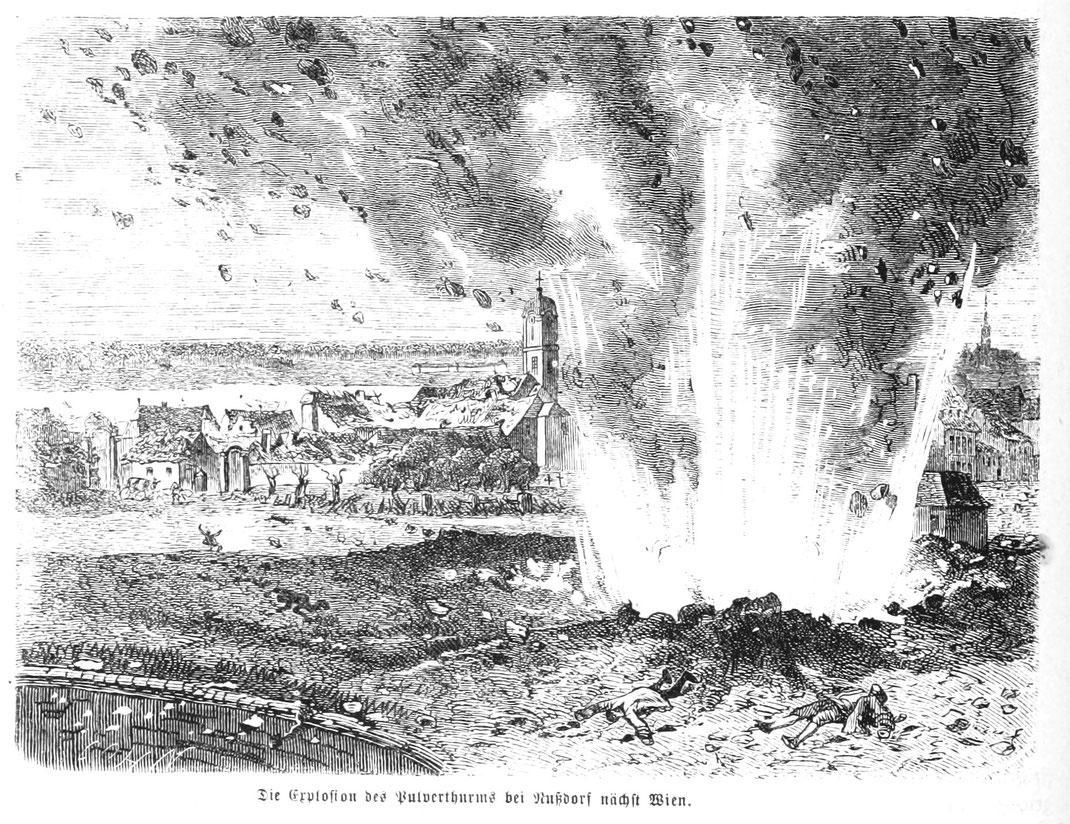 Die Pulverturmexplosion bei Wien am 26. Juni 1779