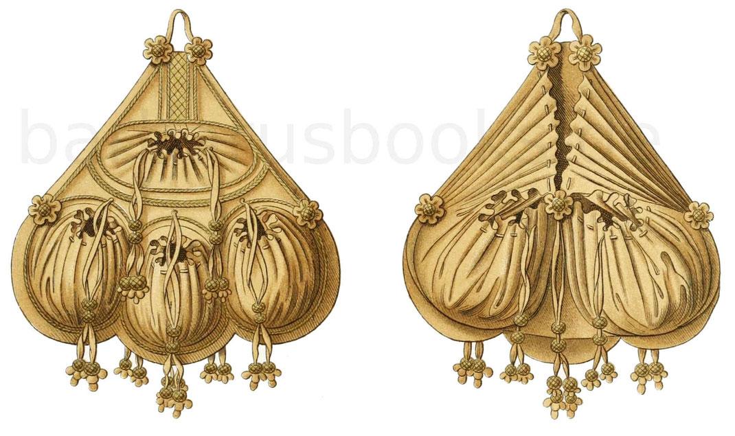 Frauentaschen aus der ersten Hälfte des 16. Jahrhunderts