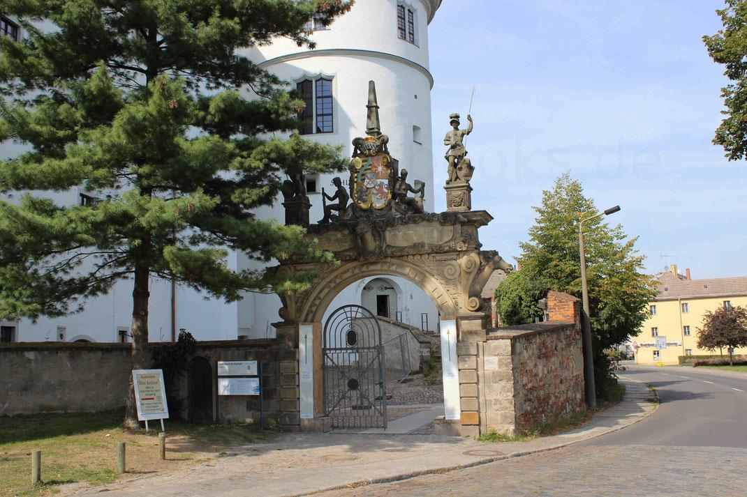 Eingangstor Hartenfels Sachsen Kaserne