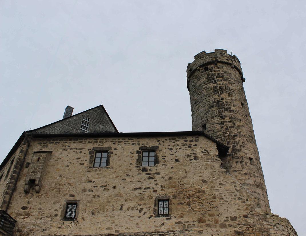 Greifenstein von den Drei Gleichen Thüringen Burgenland