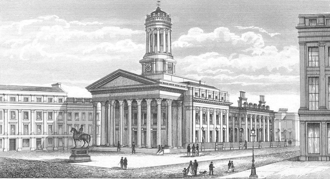 Königliche Börse Irland, Glasgow 1872