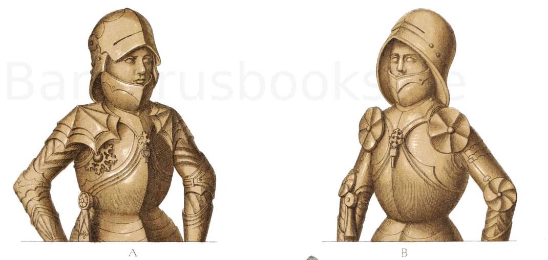 Ritterliche Tracht aus dem 15. Jahrhundert.