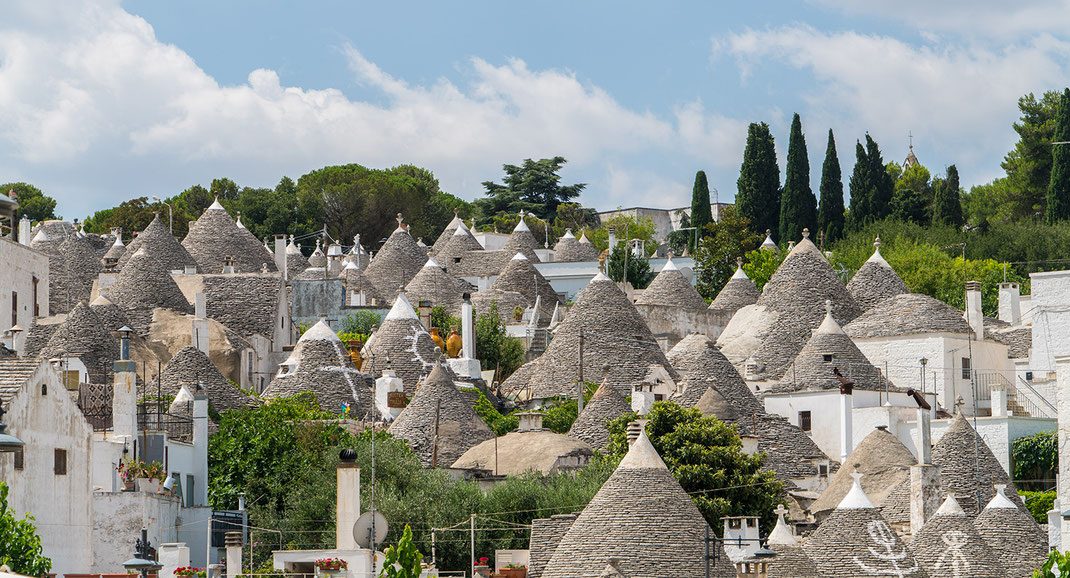 Alberobello, a bit closer