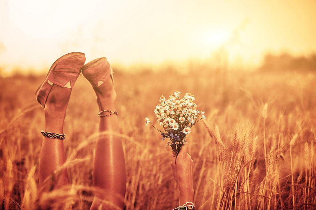 Loslassen, um Neues beginnen zu können - Wenn du loslässt, kann ein Wandel stattfinden