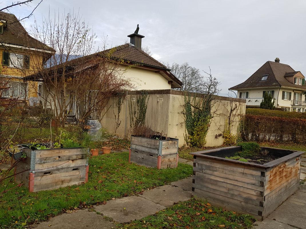 Schulgarten im Schulhaus Fegetz, Solothurn