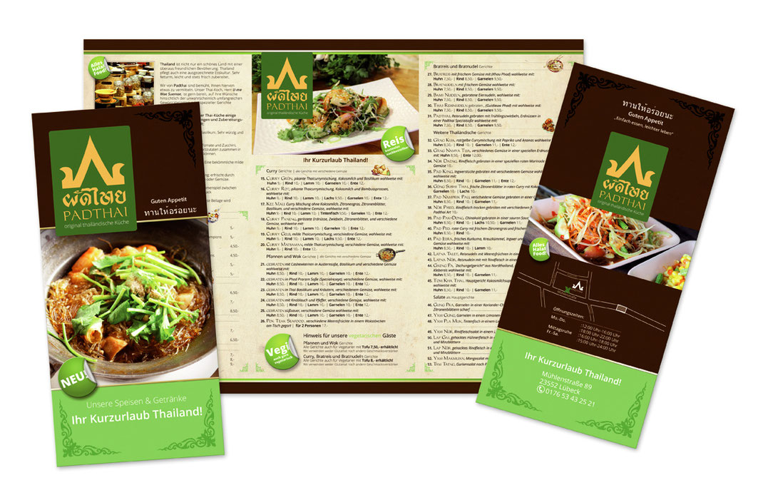 Werbung Thai Restaurant
