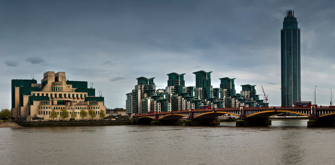 Fotoworkshop London, Vauxhall Bridge, MI6
