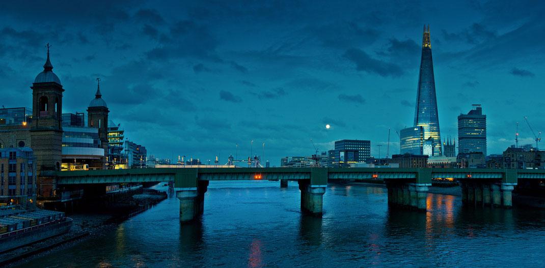Fotoworkshop London, Themse, Shard, London Bridge