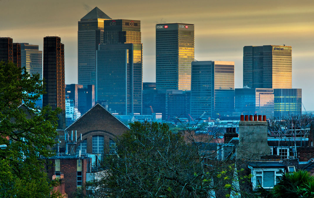 Calendar London  2016, Canary Wharf, London, cityscapes, Sebastian Kaps