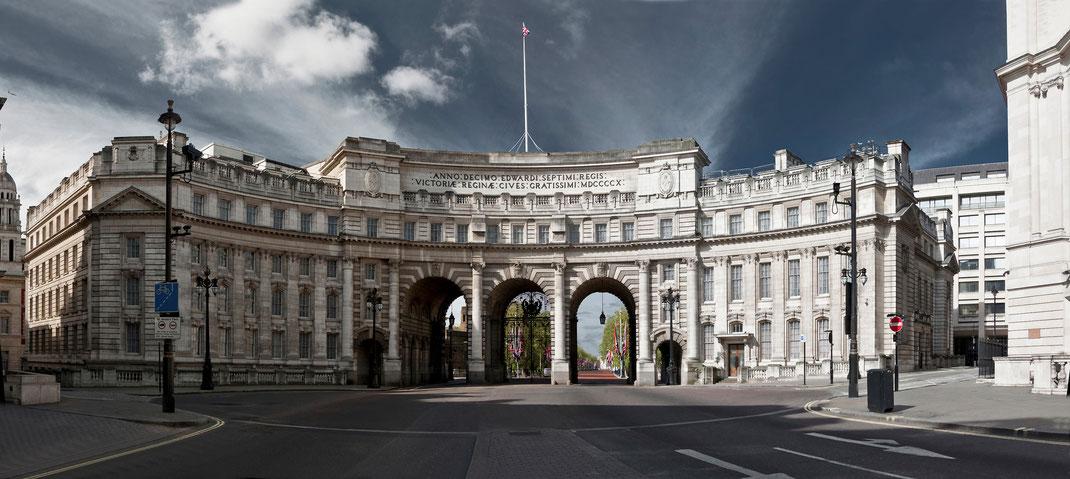 London Calendar 2016, London panorama, Admirals Arch, Sebastian Kaps
