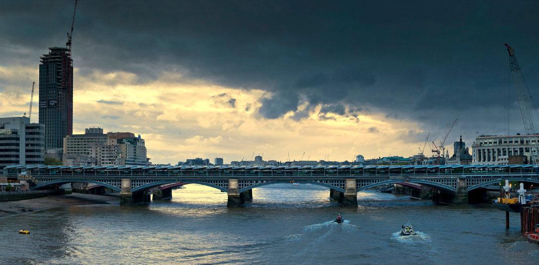 Fotoworkshop London, Blackfriars Bridge, Themse