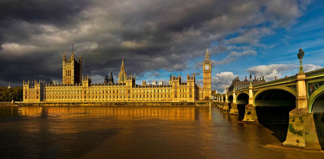 Fotoworkshop London, Parlament, Themse