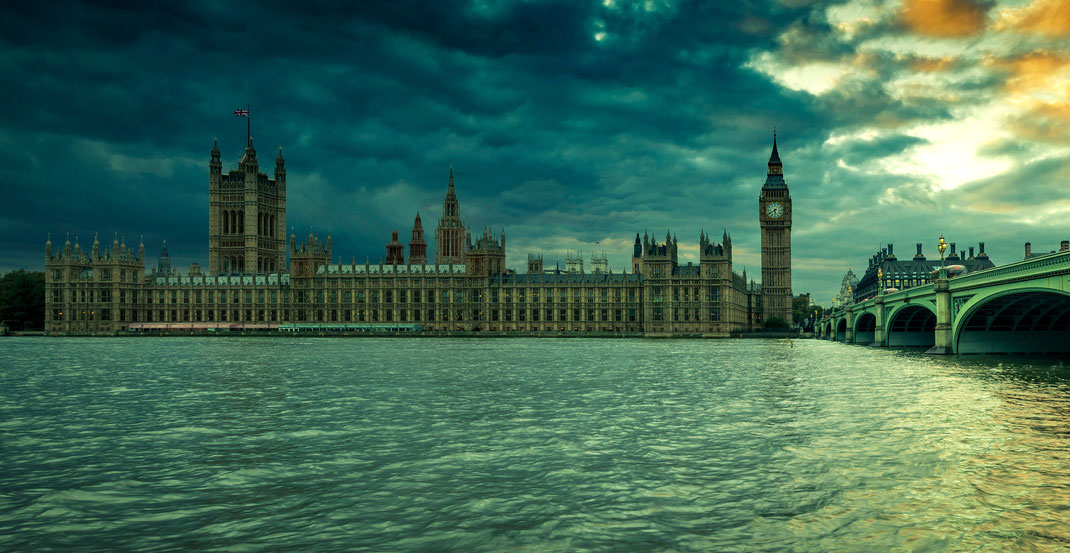 The Houses of Parliaments, London