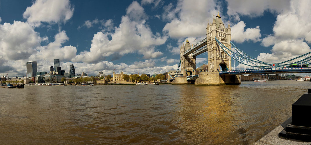 London panorama, Tower Bridge