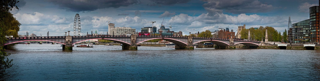 London panorama, Lambeth Bridge