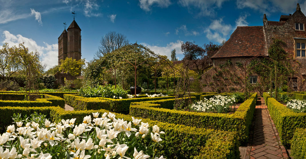 Sissinghurst, garden, UK