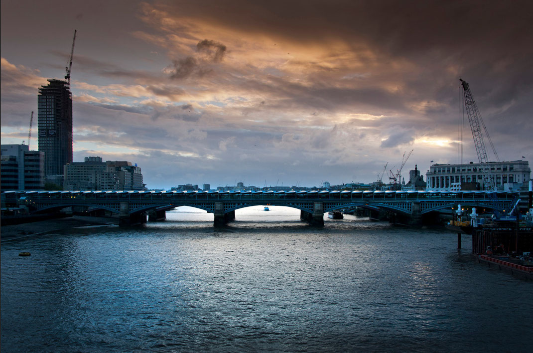 London, Black Friars Bridge, Sebastian Kaps