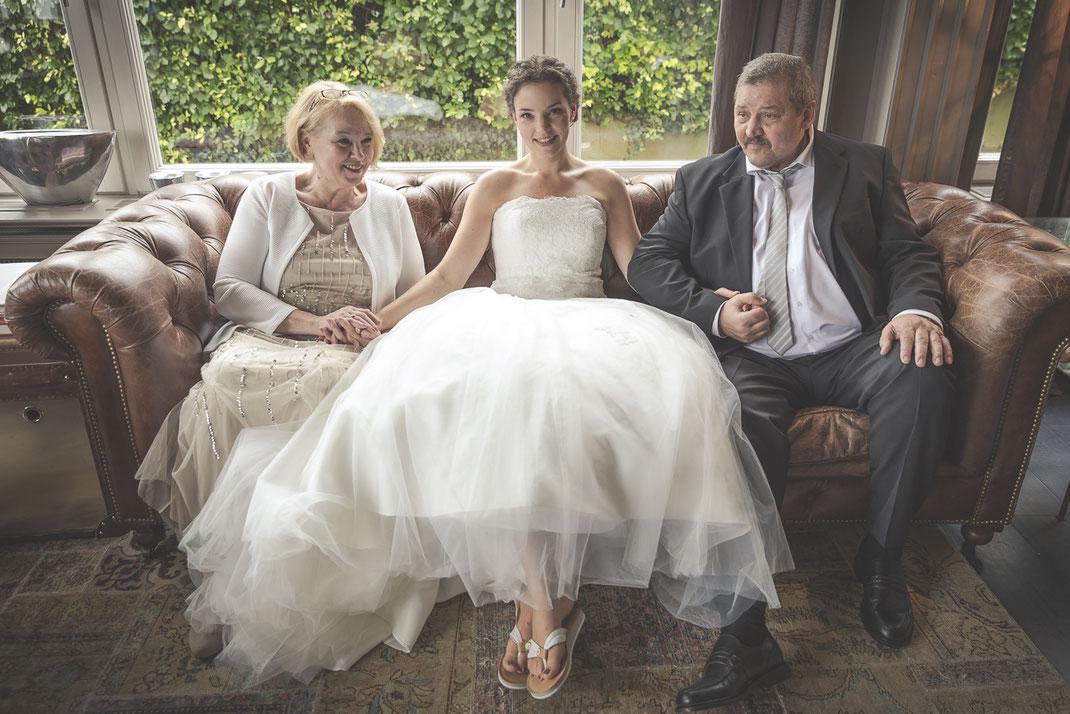 Hochzeitsfotografen Blankenese Hamburg - Brauteltern