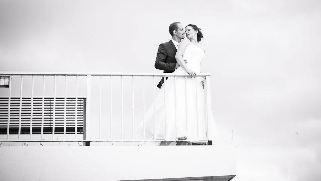 Hochzeitsfotografie - Strandhochzeit in Hamburg-Blankenese