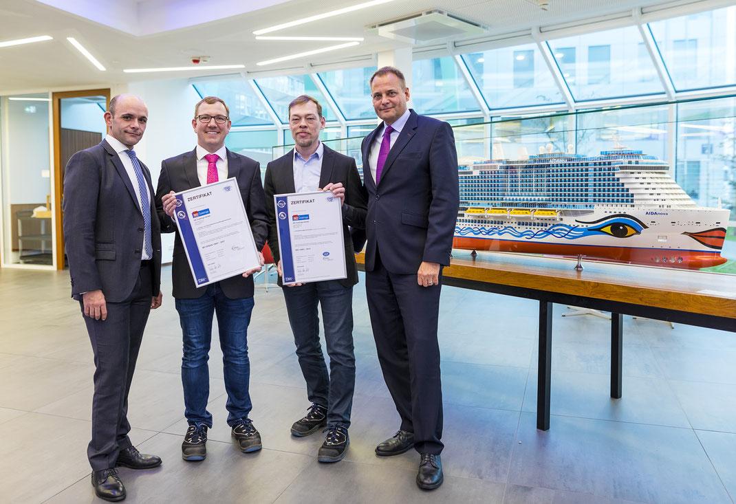 Meyer Werft Zertifikat