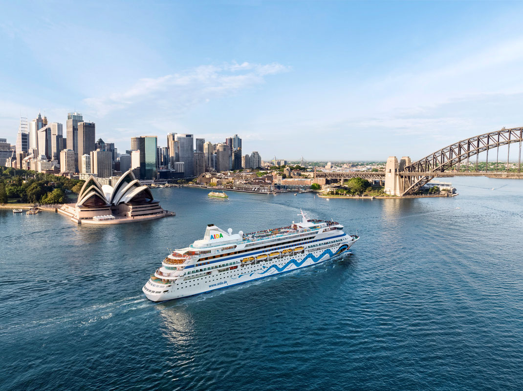 AIDAaura Weltreise Sydney