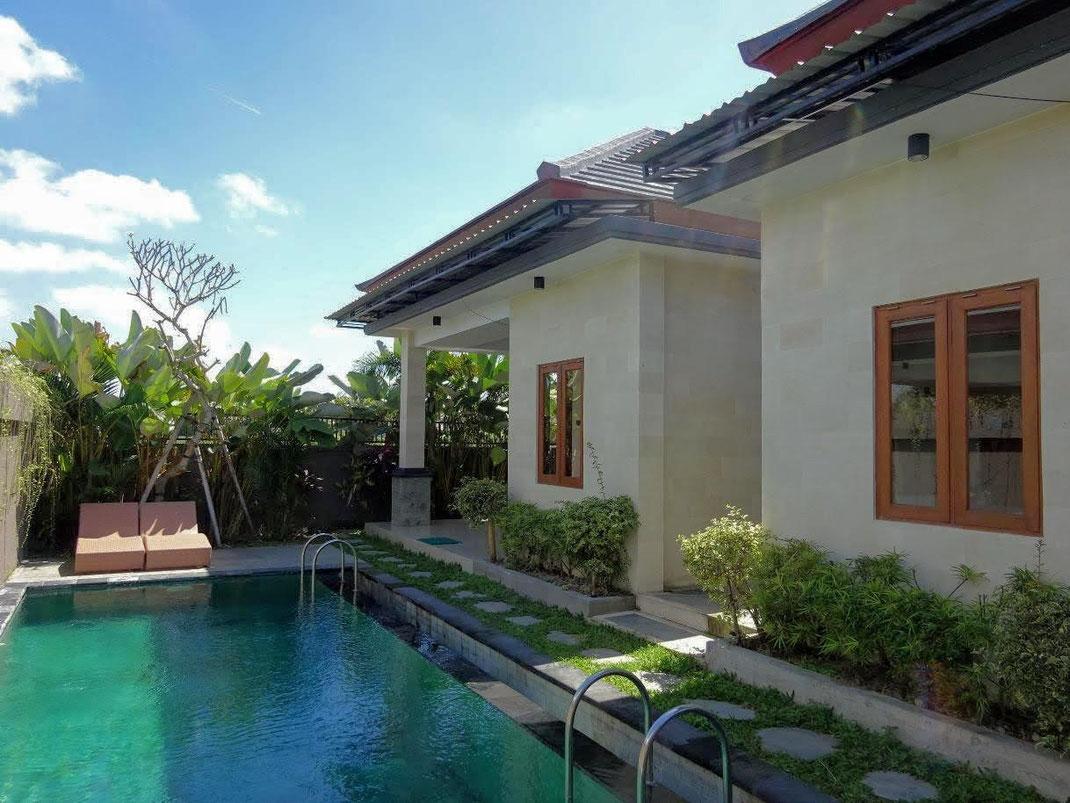 Sayan villa dijual. Di jual villa di Ubud